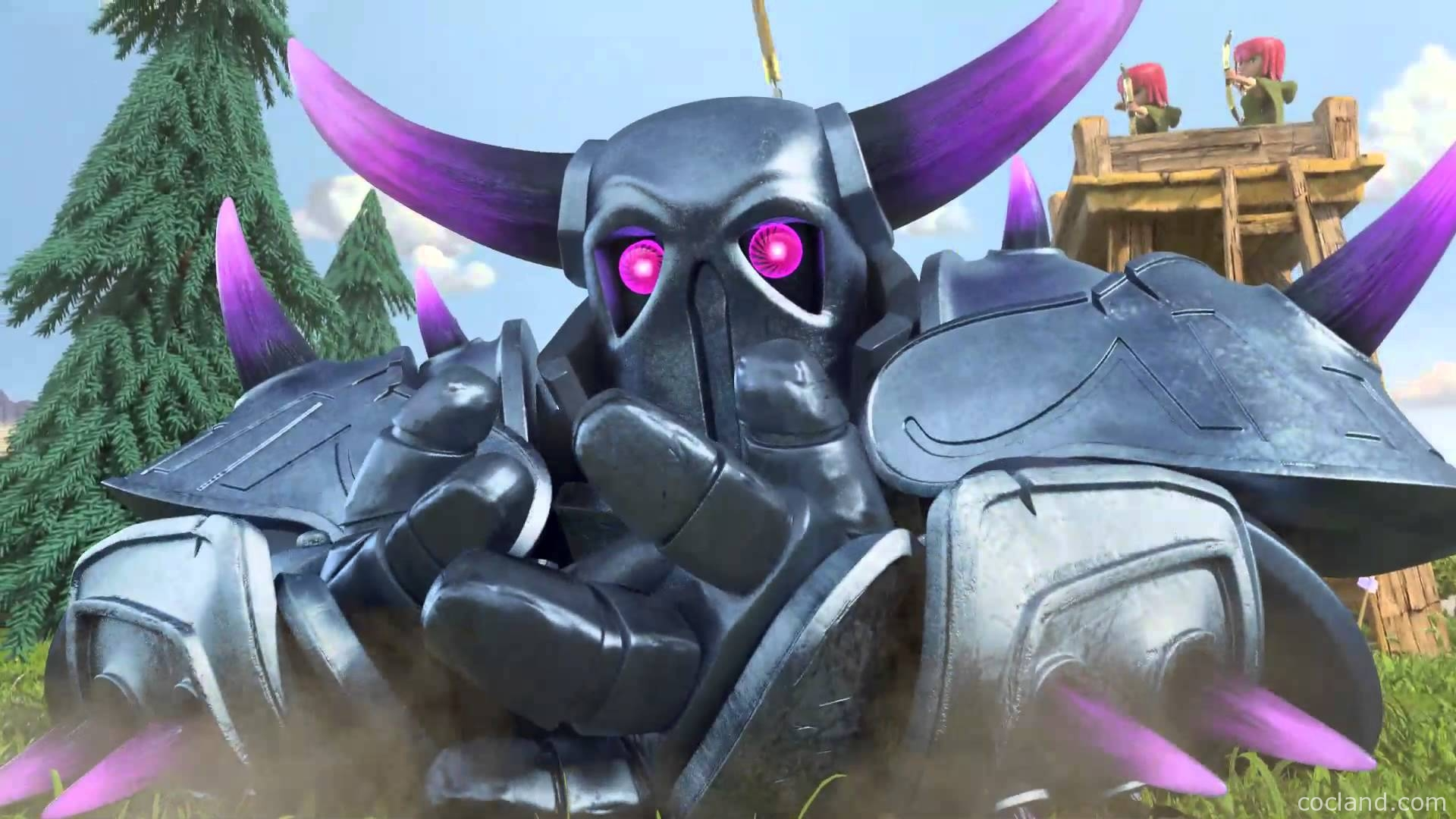 clash-of-clans-pekka-wallpaper