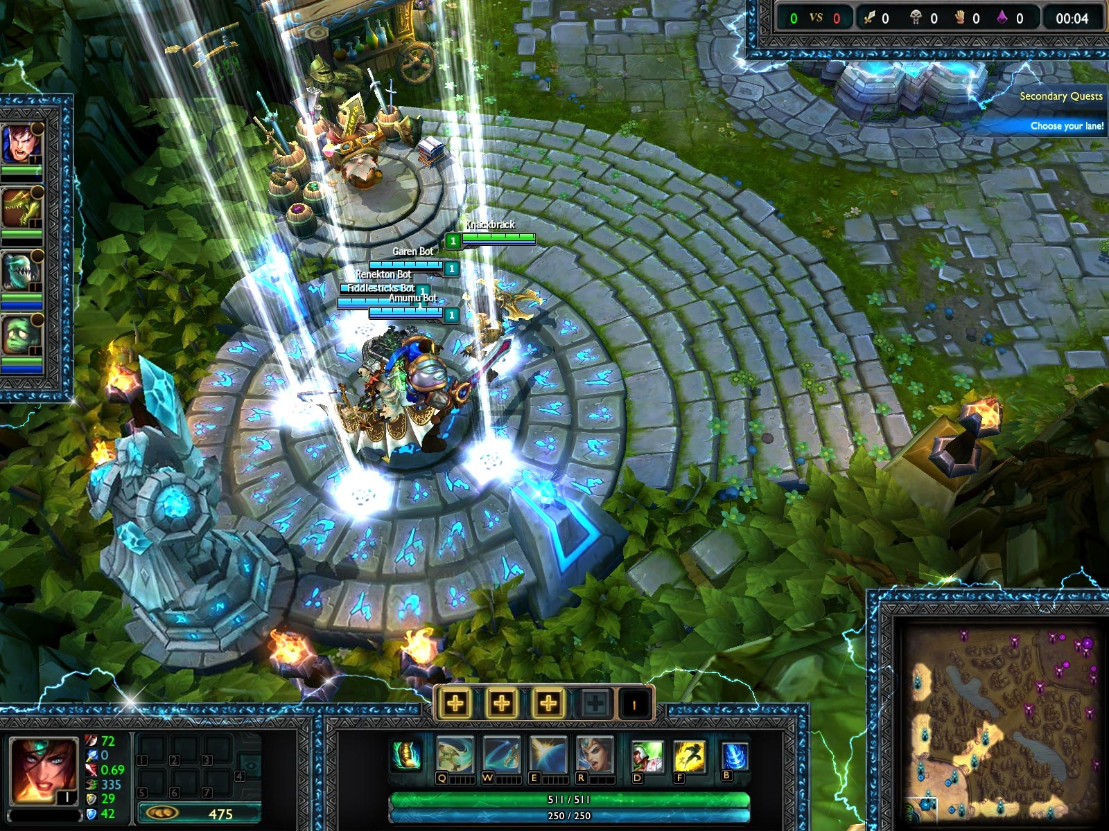 electric-blue-stream-overlay-league-of-legends