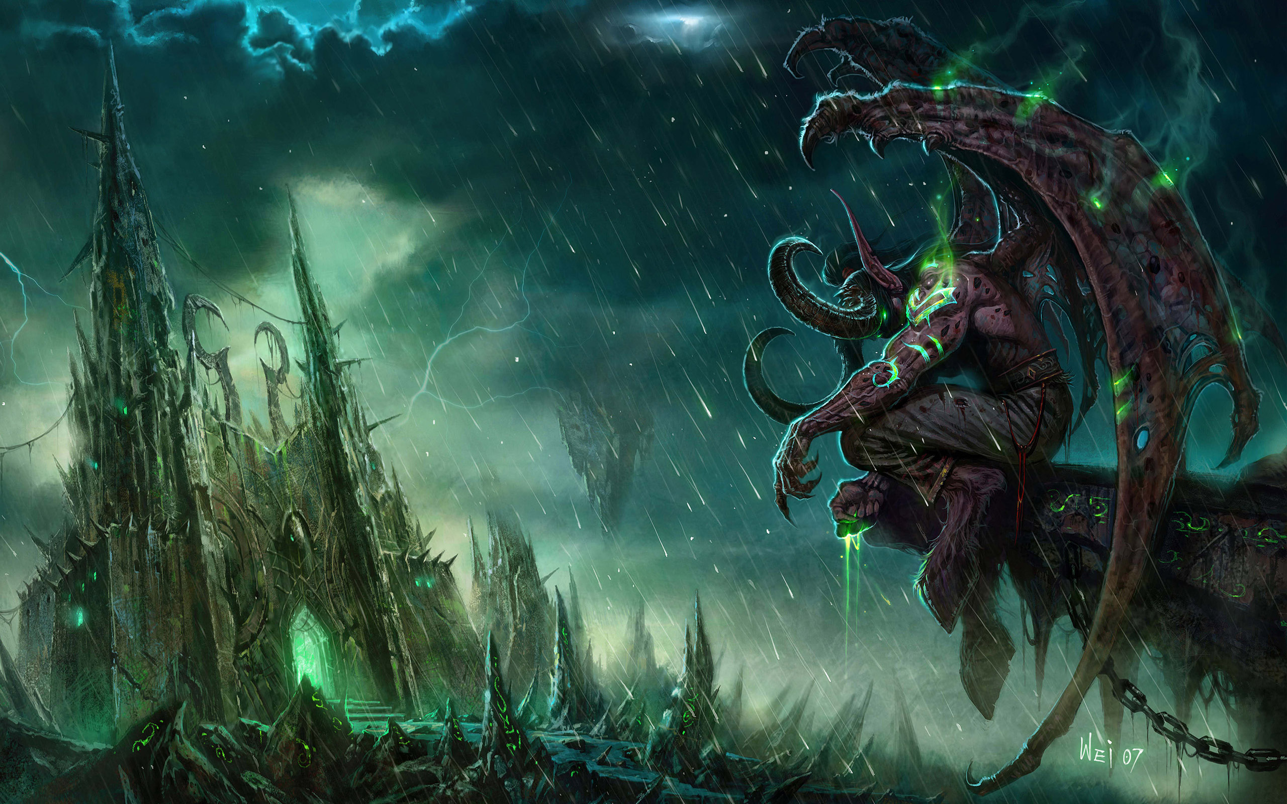 nightelf-wallpaper-illidan-demonhunter