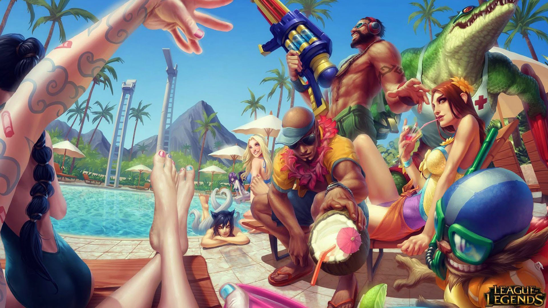party-league-of-legends-beach