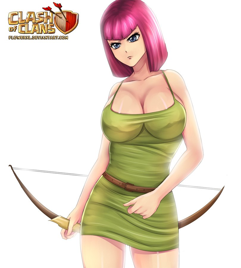 sexy-archer-clash-of-clans