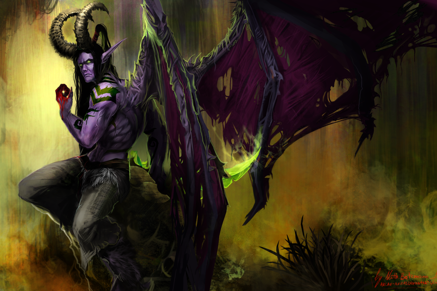 warcraft-3-wallpaper-illidan-elf-hero