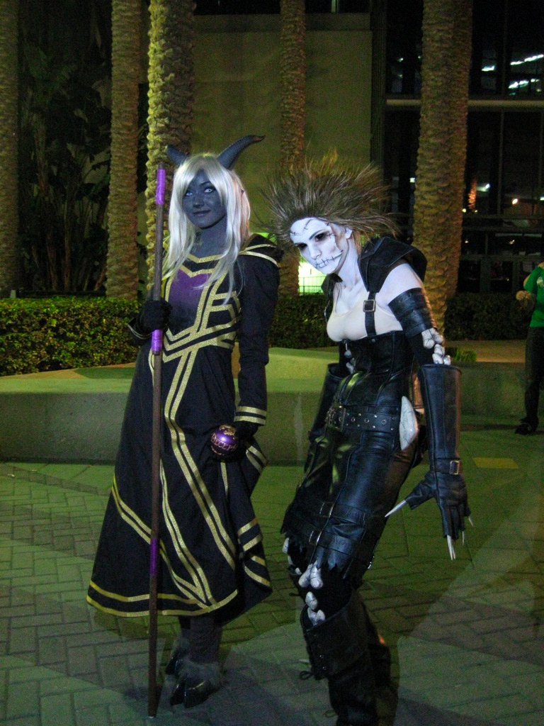 gothic-coplay-warcraft