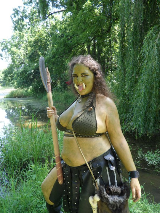orc-woman-green-tits