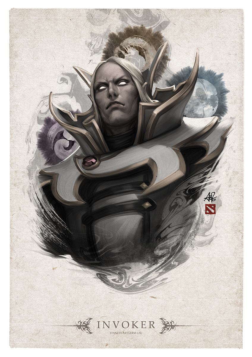 invoker-dota-hero-portrait-art