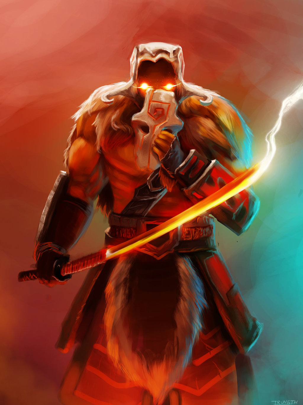 juggernaut-yunero-blademaster-dota-hero-artwork