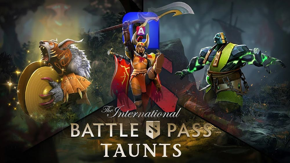 Dota 2 Battle Pass Taunts