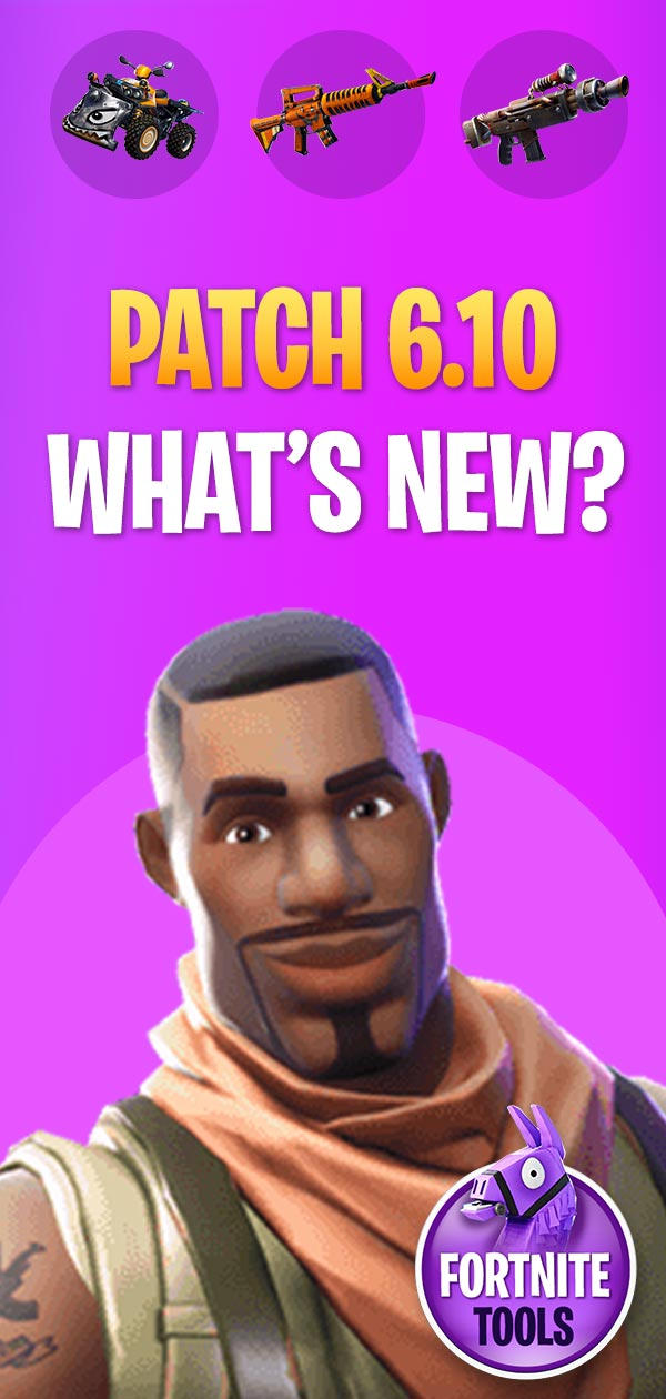Fortnite 6.10 What is new
