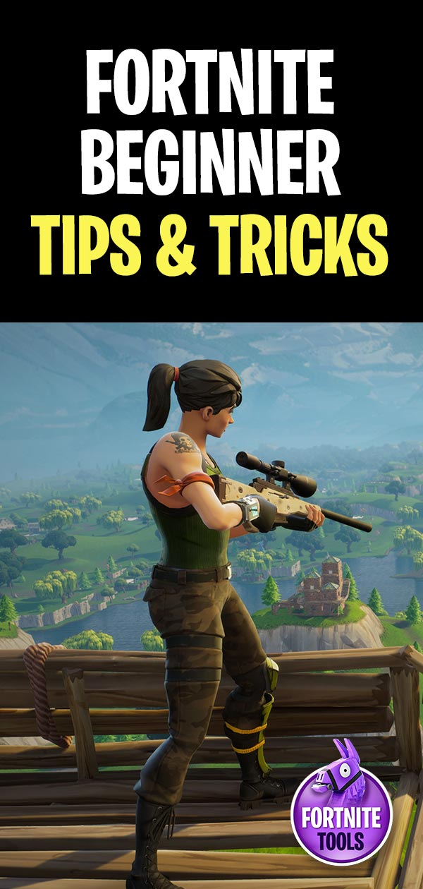 Fortnite Beginner Guide and Tips