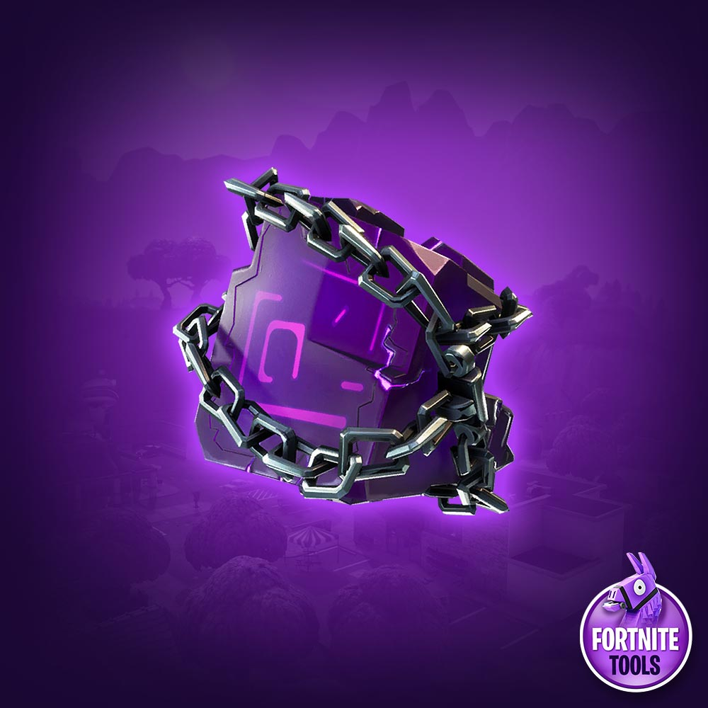 Fortnite Shackled Stone Back Bling
