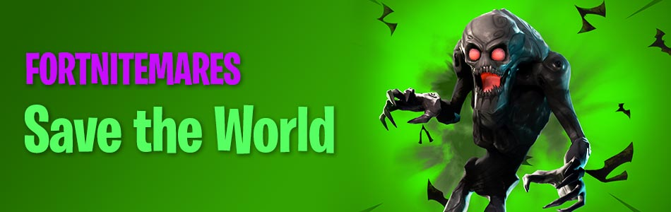 Fortnitemares Halloween Save the World