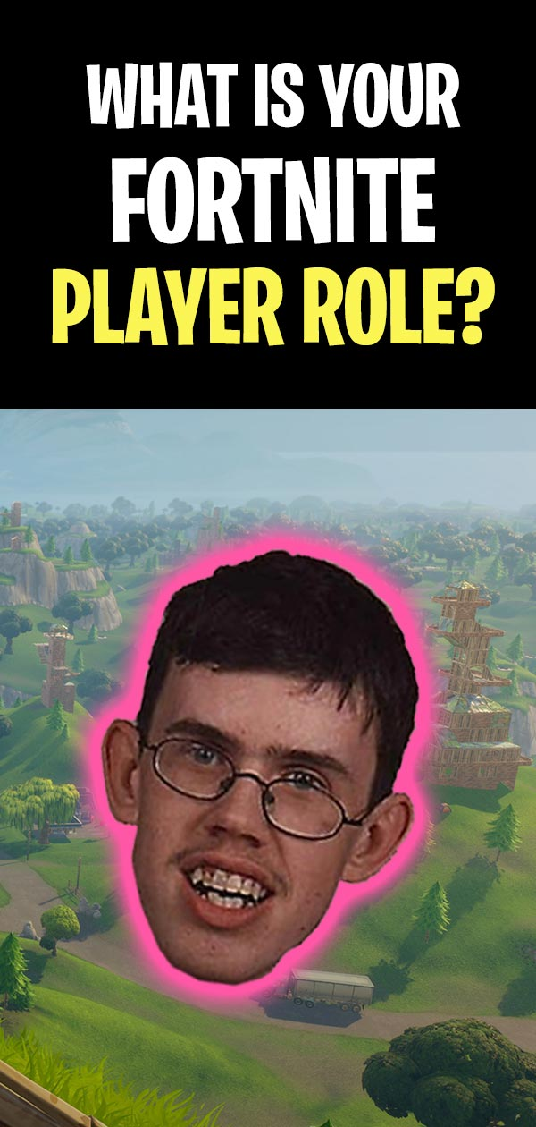 What is your fortnite player role