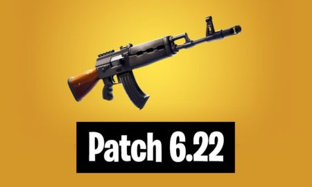Patch 6.22 Fortnite Battle Royale and Save the World