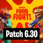 Fortnite Patchnotes 6.30 Summary - Wild West & Food Fight