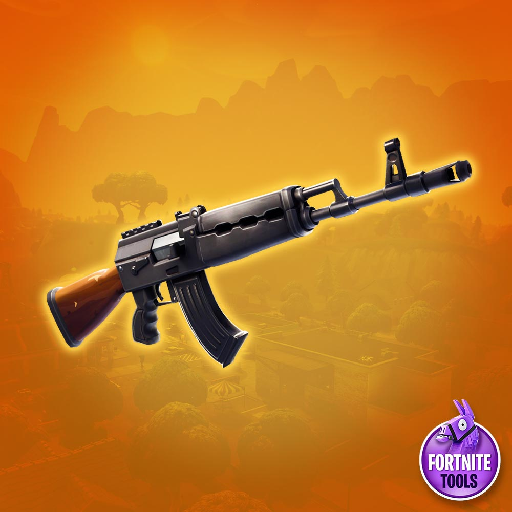 Fortnite Weapon Heavy Assault Rifle