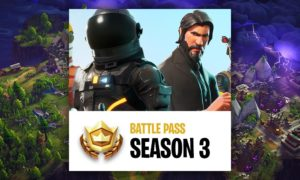 Fortnite Battle Pass Season 3 Guide - Outer Space