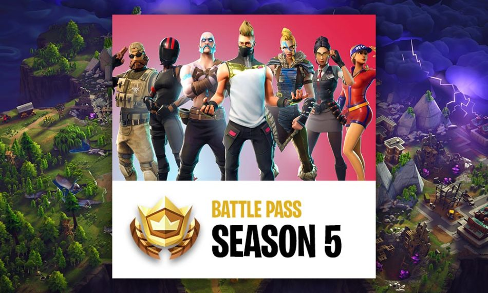 Fortnite Battle Pass Season 5 Guide