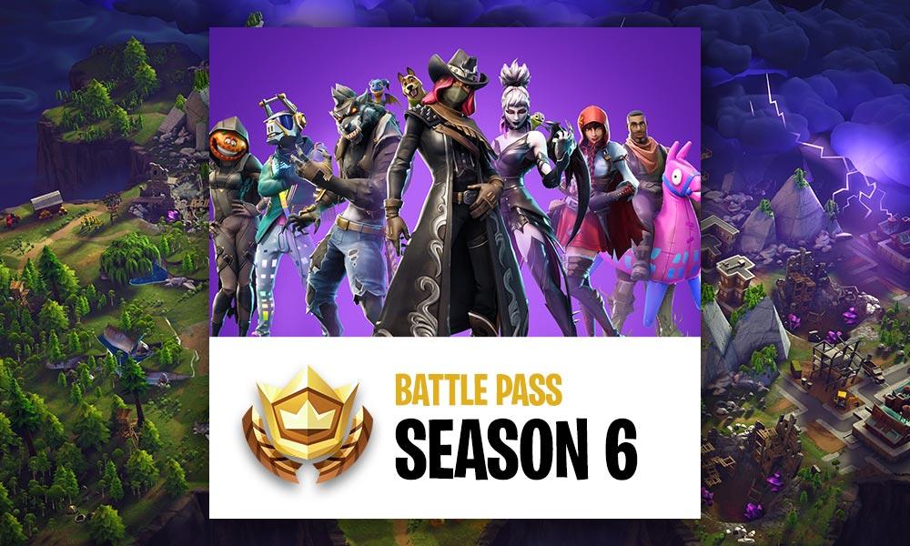 Fortnite Season 6 Battle Pass Guide