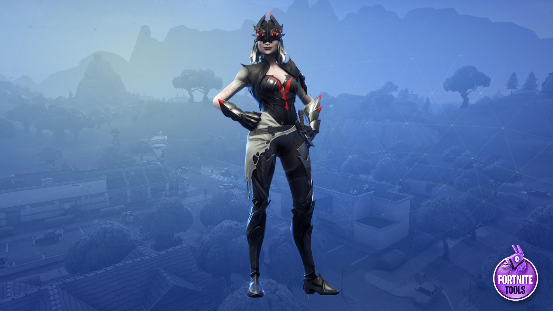 Marvelous Fortnite Battle Royale Arachne Skin Wallpaper