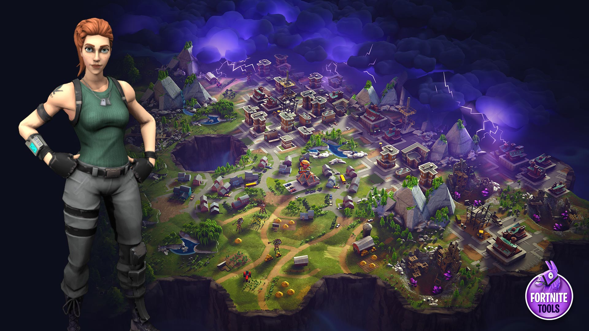 Fortnite Map Wallpaper Pathfinder