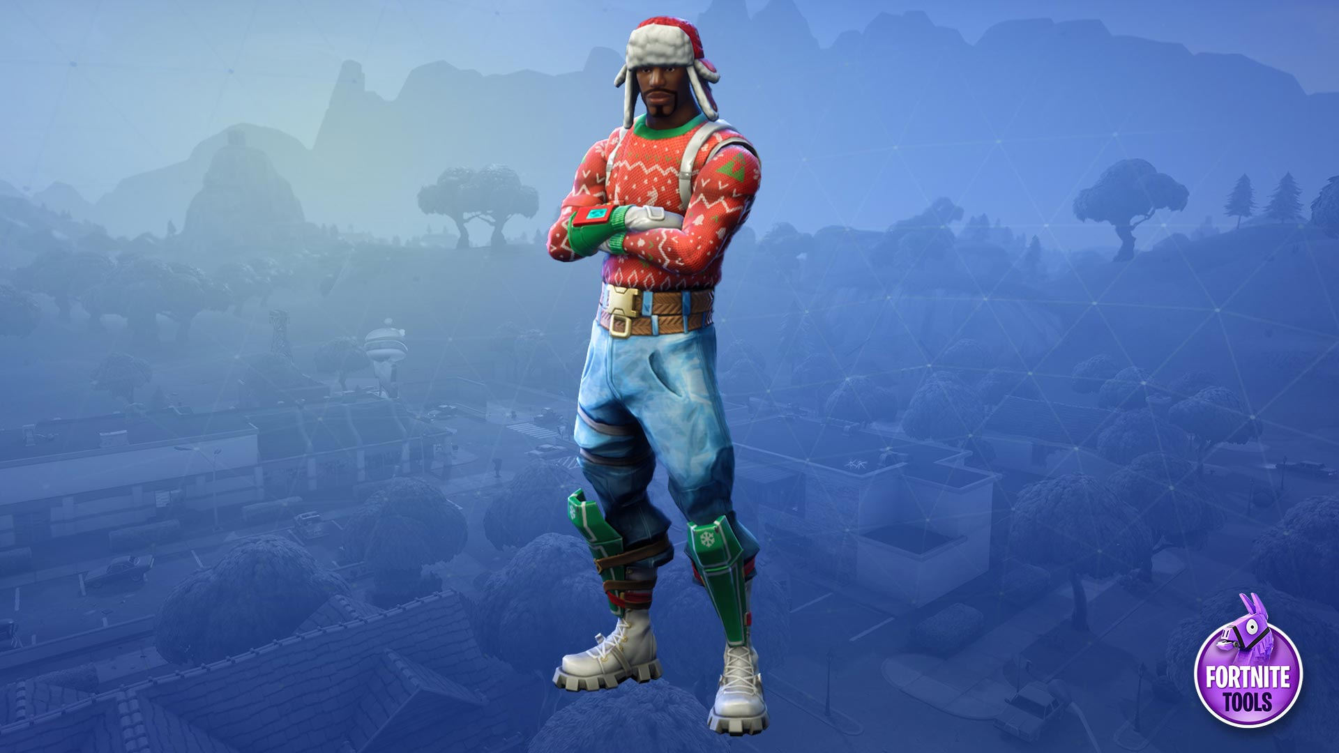 Fortnite Battle Royale Skin Yuletide Ranger Wallpaper