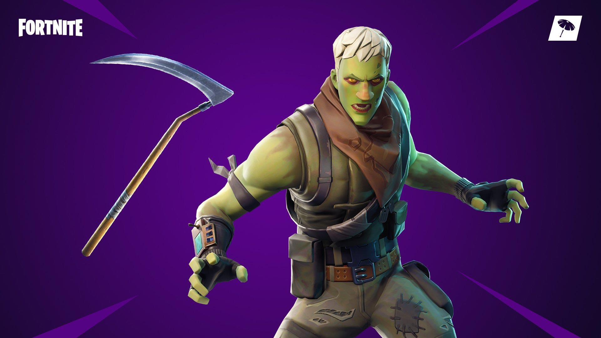 Fortnite Skin Brainiac Wallpaper