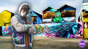 Abstrakt Skin Fortnite Graffiti Wallpaper