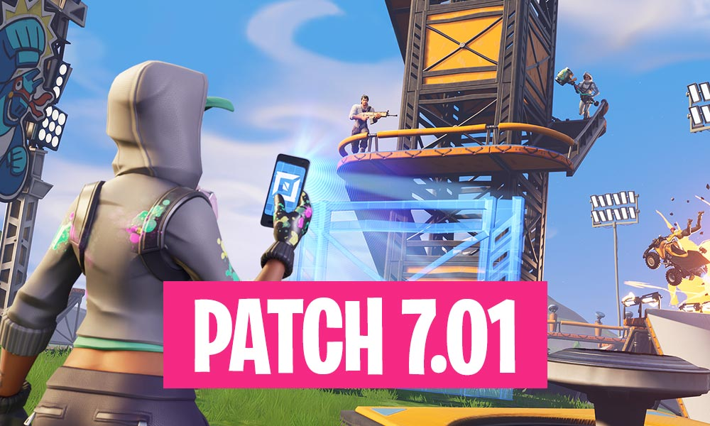 Fortnite Patch 7.01 Summary - Infinity Blade Release