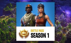 Fortnite Battle Pass Season 1