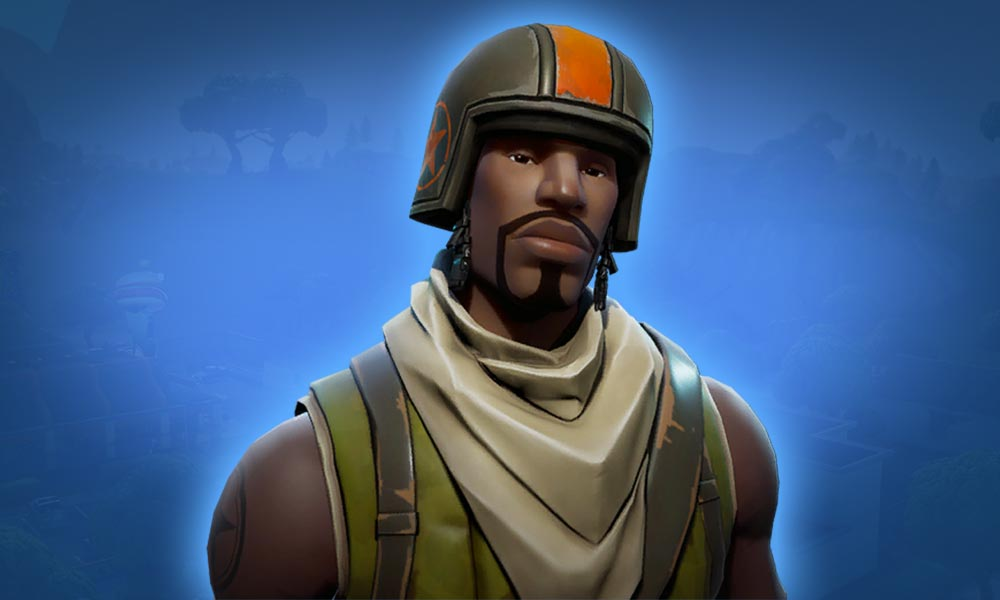 Aerial Assault Trooper Fortnite Skin Military Cannon Outfit