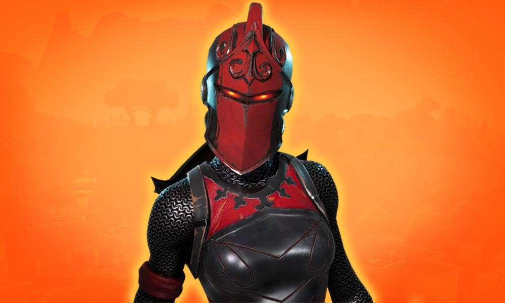 Red Knight Fortnite Skin Red And Black Leather Outfit