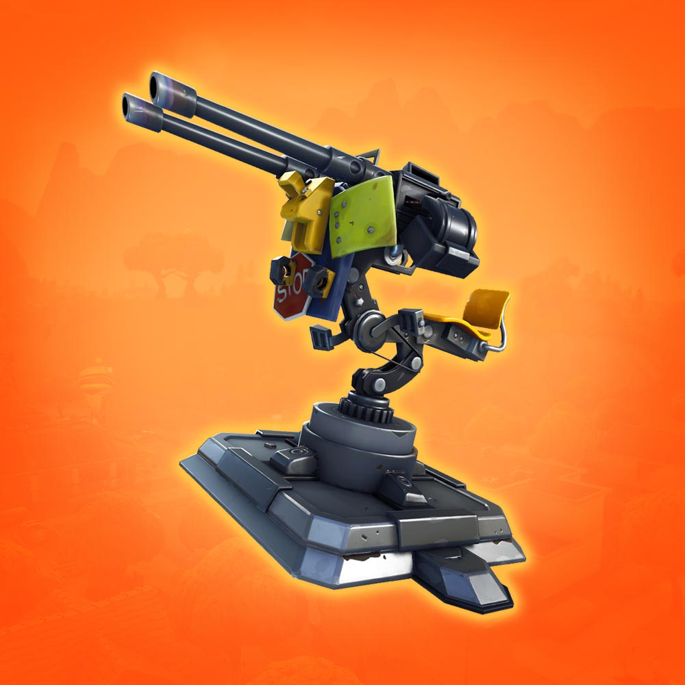 Mounted Turret Fortnite Battle Royale