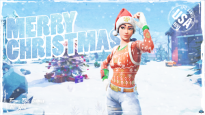 Nog Ops Fortnite XMAS Wallpaper