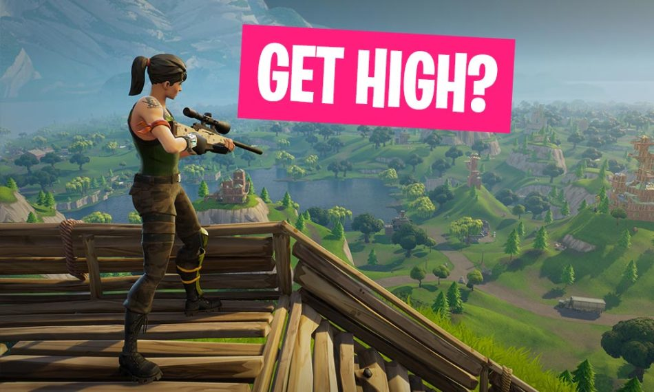 Fortnite Guide How to reach the Highground