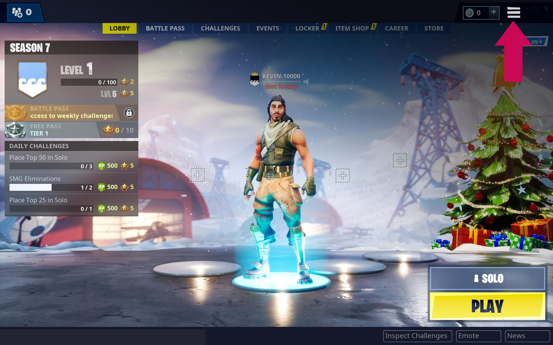 Fortnite Battle Royale PC Settings