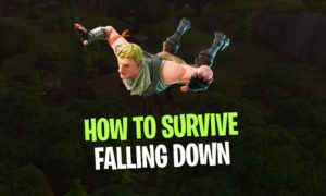 How to Fall down without taking any Damage in Fortnite!