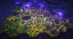 Fortnite Map HD Wallpaper