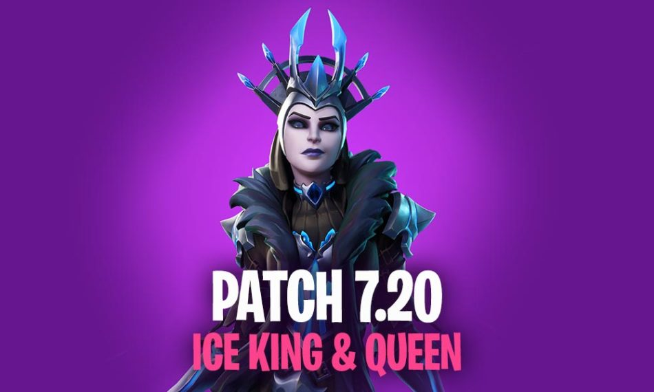 Fortnite Patch 7.20 Summary Ice Kind and Ice Queen