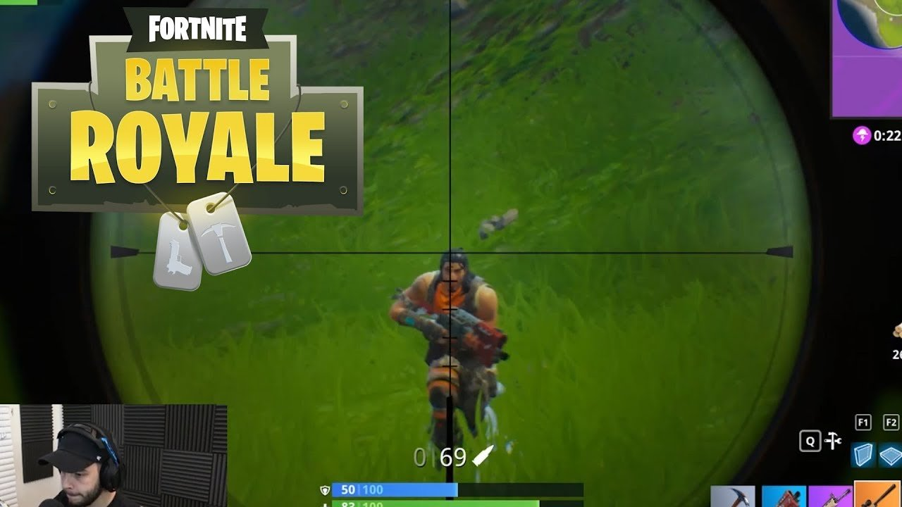 Fortnite Scope Aiming