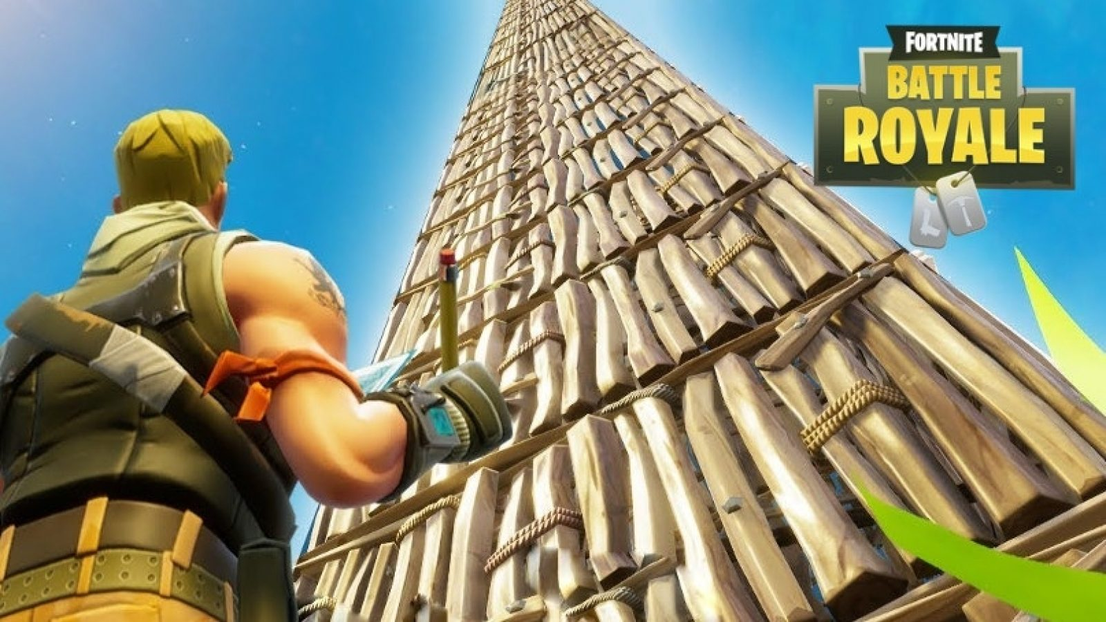 build your own Fortnite high ground