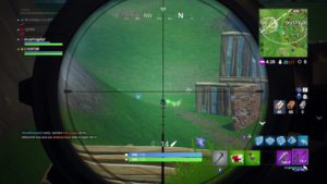 Fortnite Crosshair Shooting