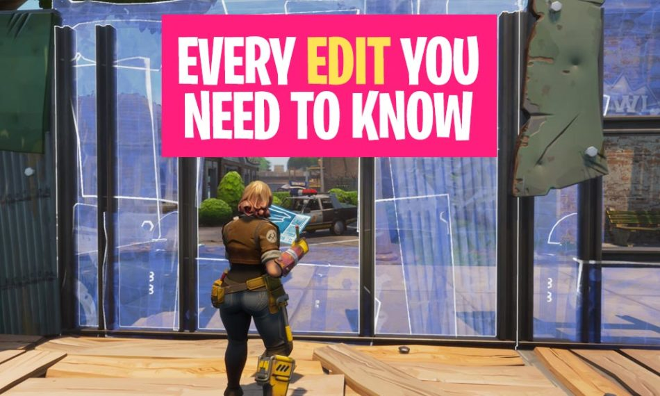 Every Fortnite Build EDIT you need to know