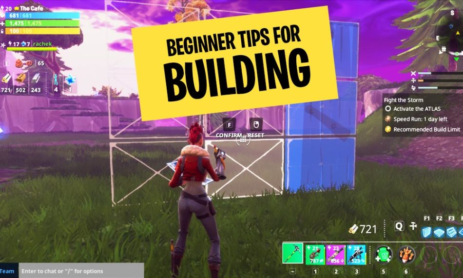 Fortnite Beginner Building Guide