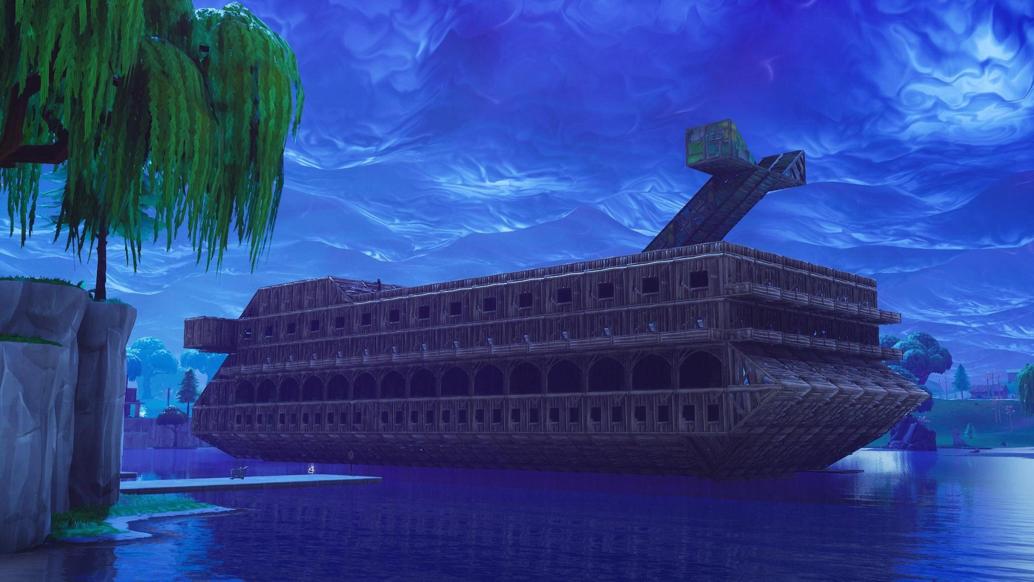 Fortnite Building Cruise Ship
