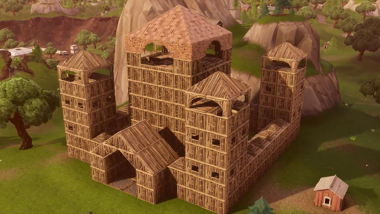 Fortnite Castle