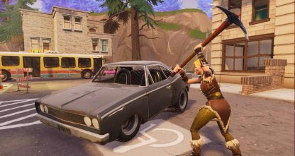 Destroying Cars in Fortnite is very loud