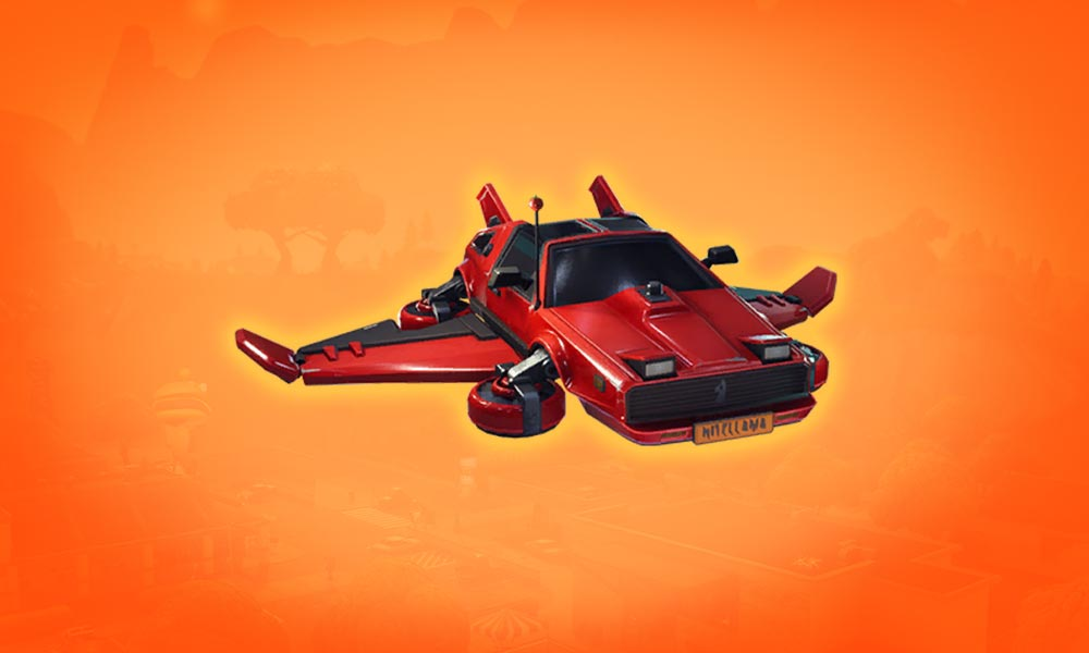 Fortnite Glider Hot Ride