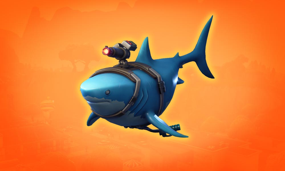 Fortnite Glider Laser Chomp