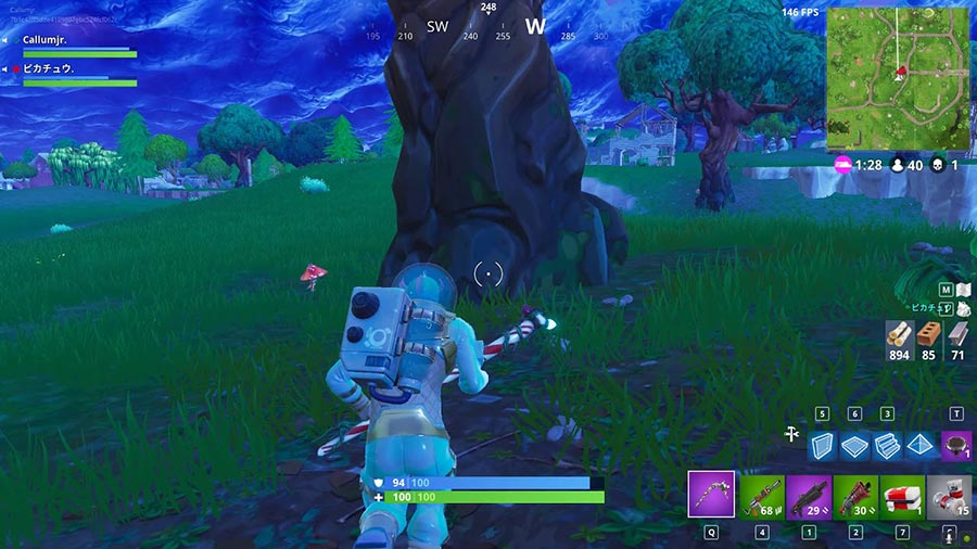 Fortnite hit sources while you move