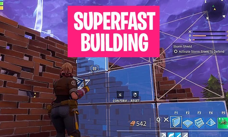 How to build quickly in Fortnite